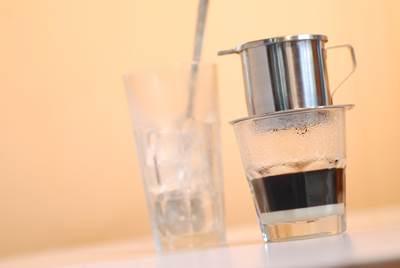 水出しアイスコーヒーをお茶パックで