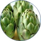 アーチチョーク葉の画像
