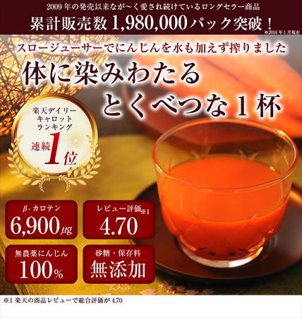 大腸がんの再発予防には人参ジュースがいいの?:www.ganyobou.link:20160422110443j:plain