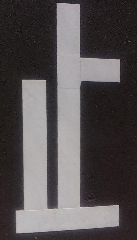 [テクスチャ][地面][道路][道路標示][止まれ]
