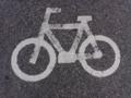 [テクスチャ][地面][道路][道路標示][自転車]