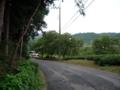 高麗神社へ向かう道