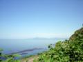 乳母嶽神社近くから見た日本海