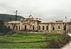 当時のスリュジャンカ駅