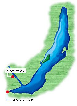 スリュジャンカの位置