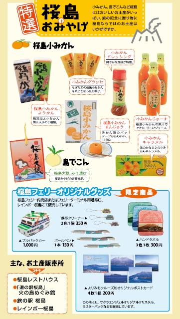 桜島お土産
