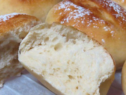 甘酒酵母 中種でパン作り