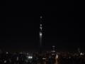 [夜景][LUMIX G X VARIO PZ 14-42mm][ISO1600]スカイツリー2011/12/24