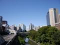 [LUMIX G 14mm F2.5]御茶ノ水駅(聖橋)から(2)晴れ