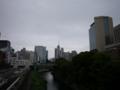 [LUMIX G 14mm F2.5]御茶ノ水駅(聖橋)から(3)曇り