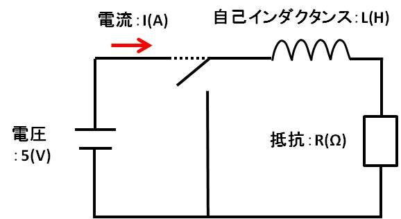 RL直列回路例題2