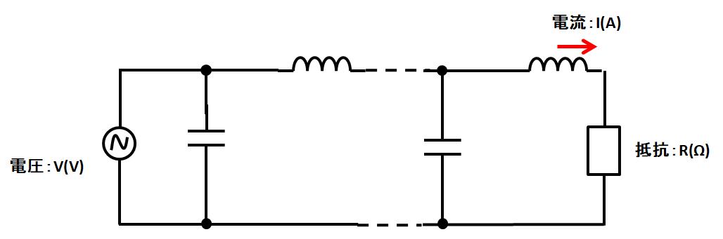 分布定数回路抵抗除去