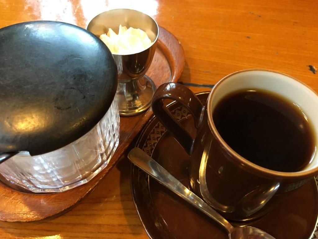 コーヒー登場