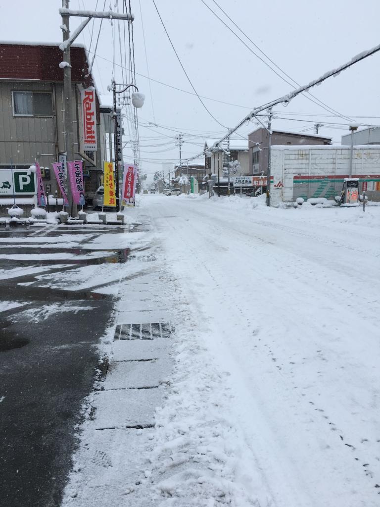 薬局前の道路