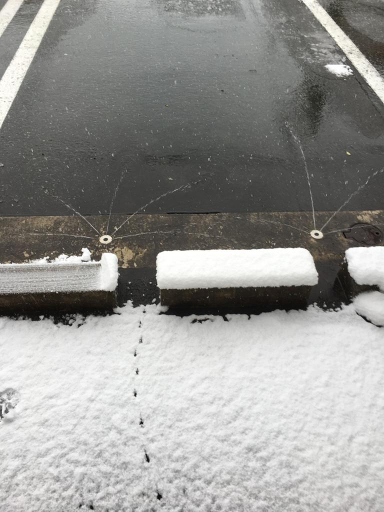 地下水の融雪