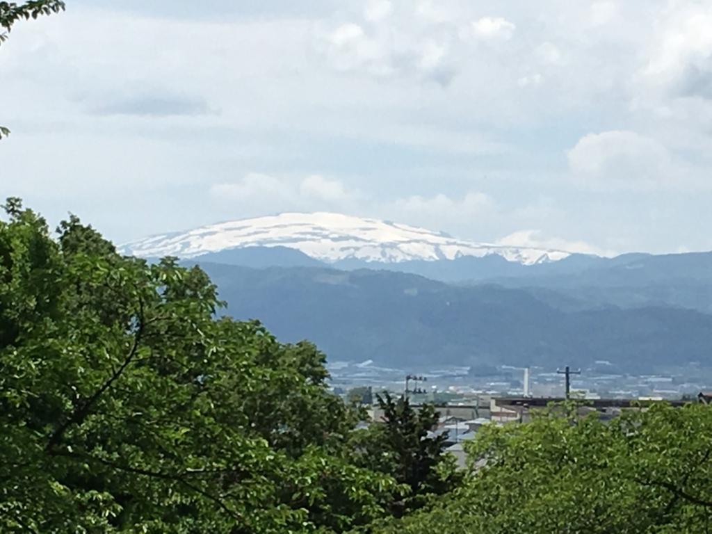 月山も綺麗な眺めでした