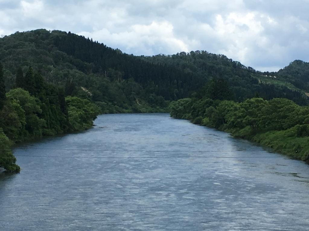 黒瀧橋からの眺めです