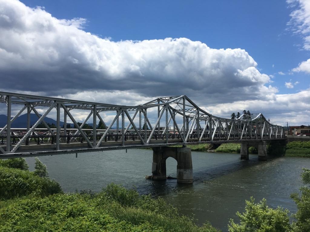 最上川の大石田大橋