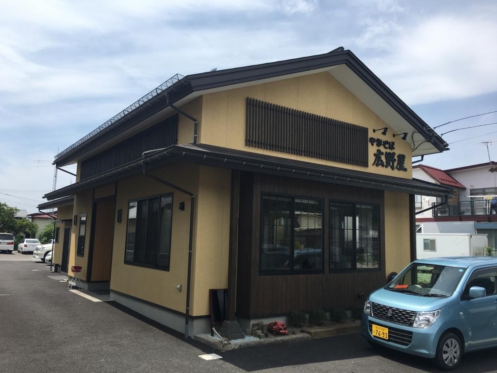 広野屋の店舗