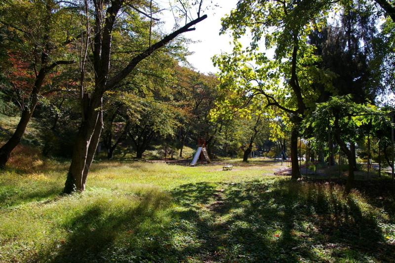 若木山公園 「秋の昼下がり」