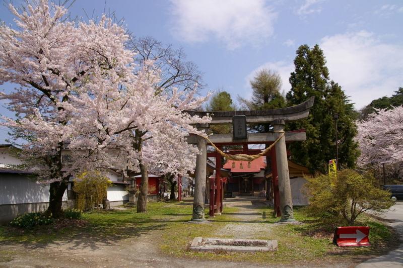 花咲く若木神社