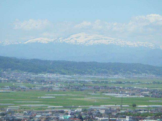 霞城セントラルからの眺め