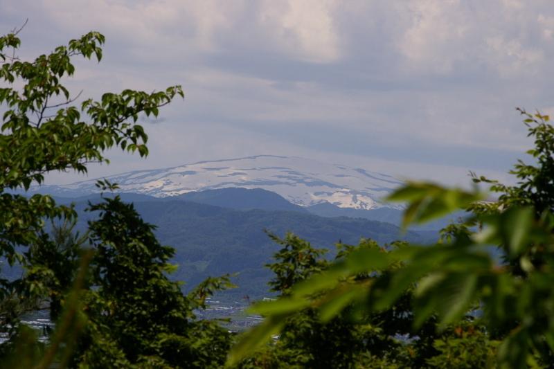 若木山より月山展望