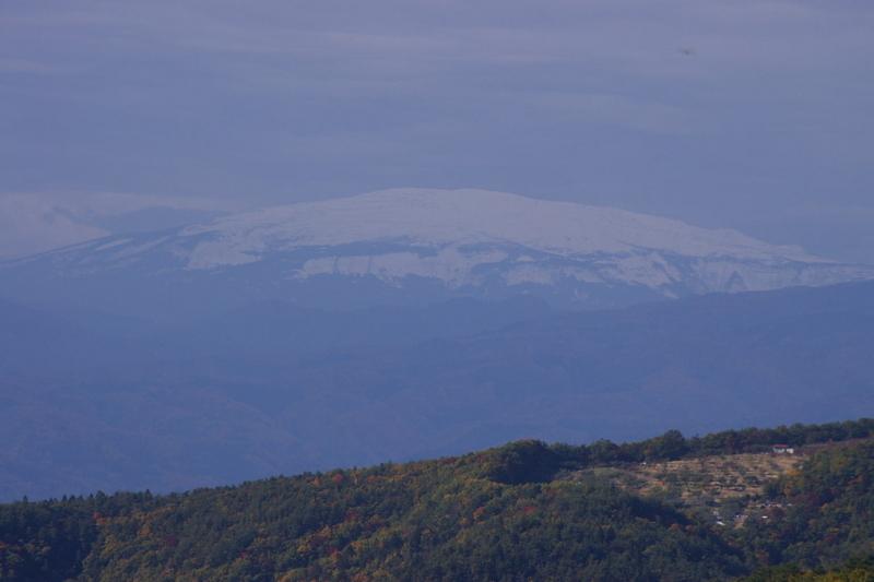 石崎山から月山方面を眺める