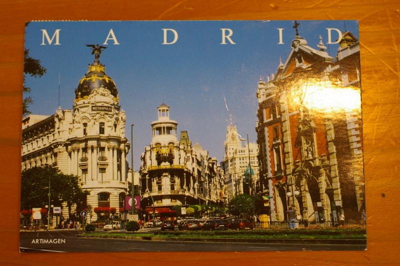 スペインからの絵葉書