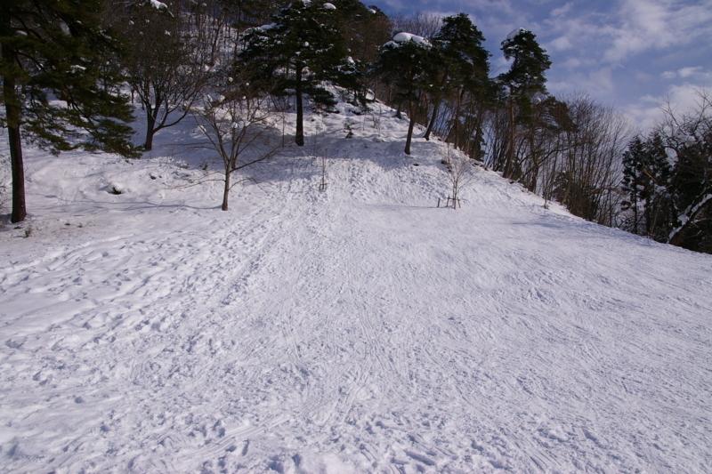 白銀の若木山スキー場
