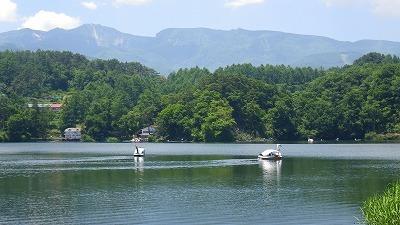 信州八ヶ岳・松原湖