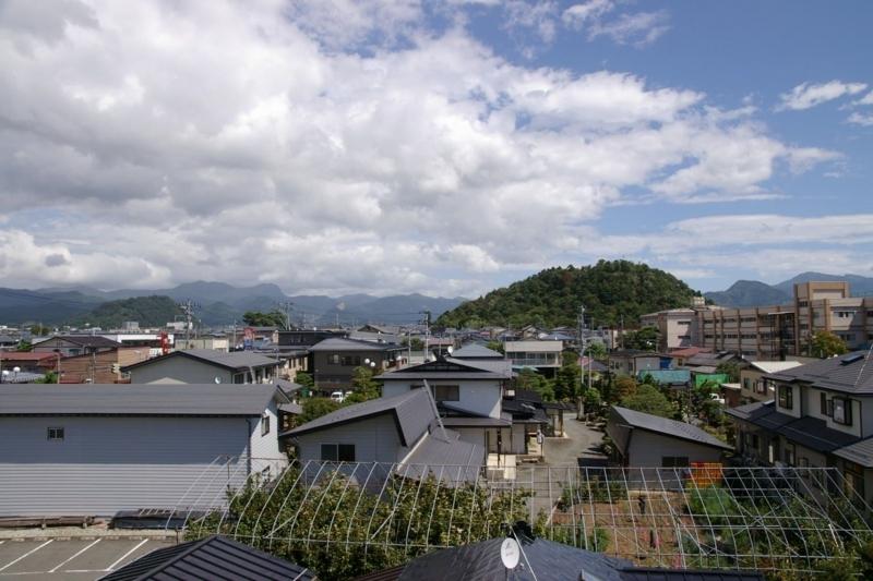 若木山と大森山眺め