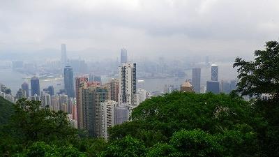 香港・ビクトリアパークからの眺め