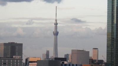 東京スカイツリーの眺め
