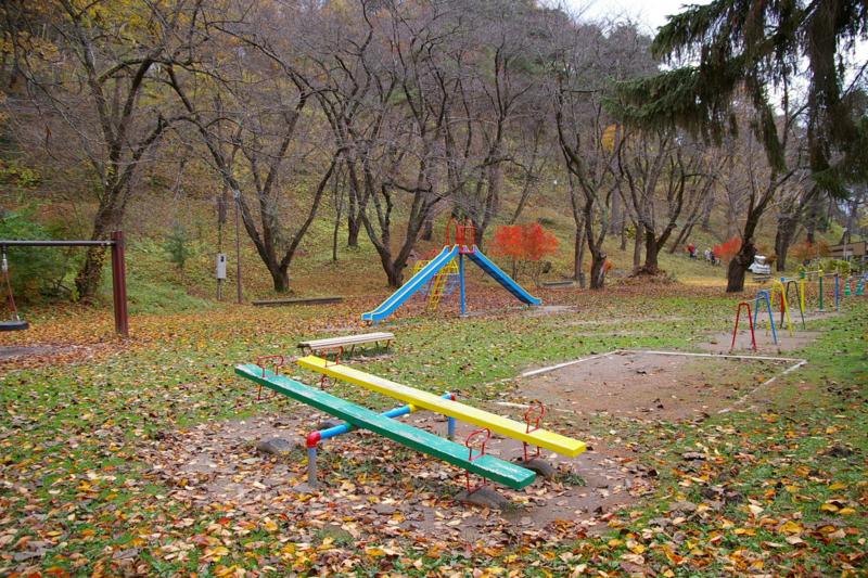 若木山公園滑り台