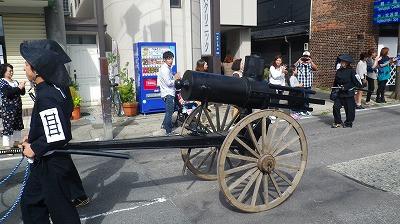 長岡藩の魂 ガトリング砲です!