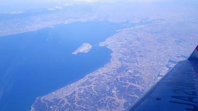 名古屋近辺の湾岸の風景