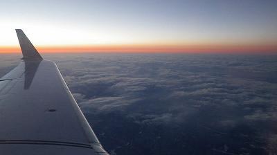 伊丹空港から山形空港への帰り