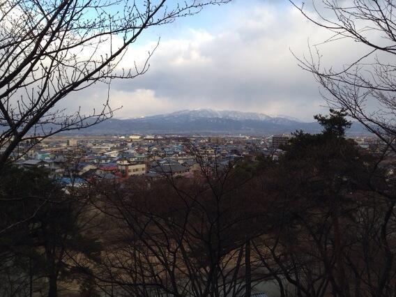 若木山の中腹より葉山眺め