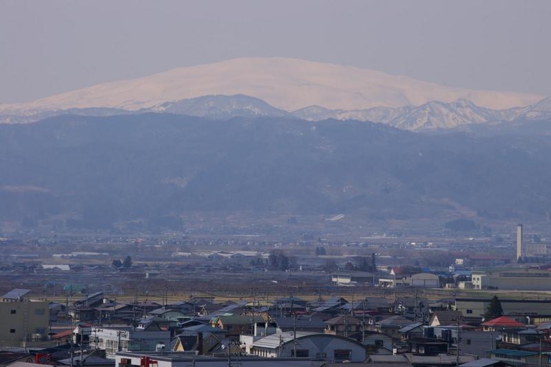 月山の眺めです