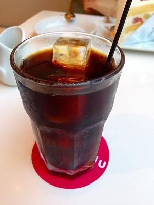 夏はキリリと冷えたアイスコーヒー