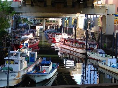 浜松町は海の街です。