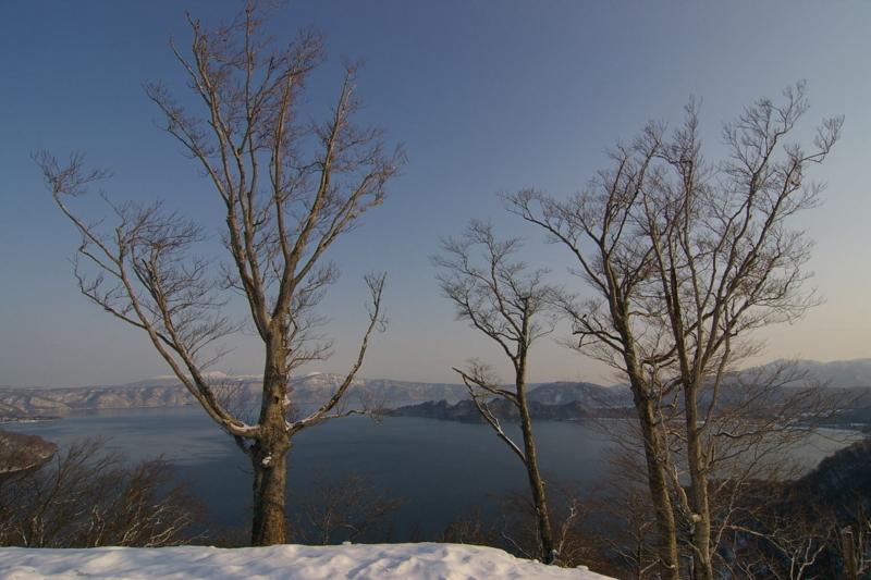 発荷峠から眺める十和田湖