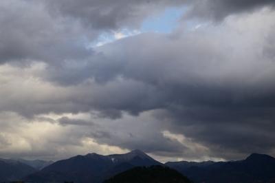 若木山上空の空