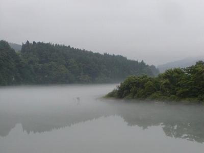 7月3日撮影の只見川
