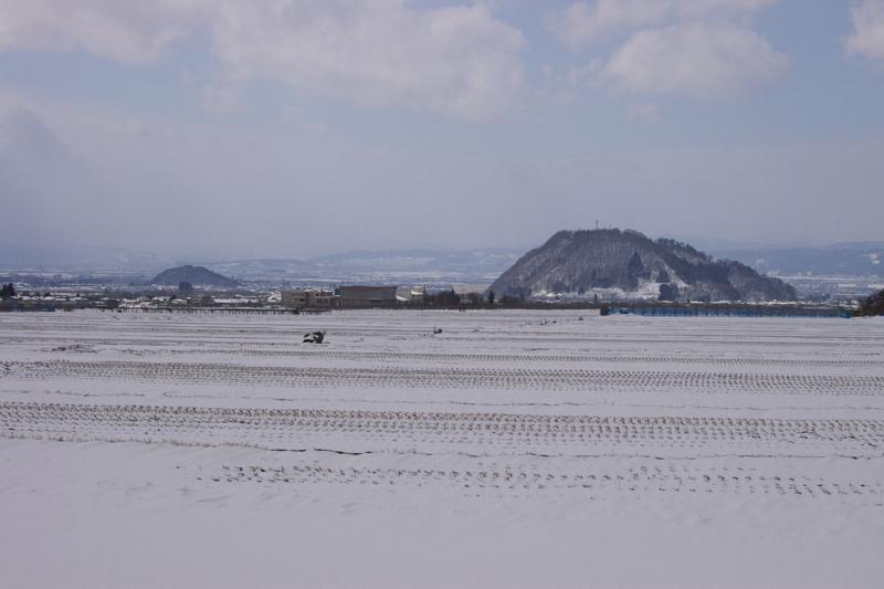 I東根の雪景色
