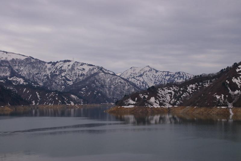 福島県奥会津 「田子倉湖」