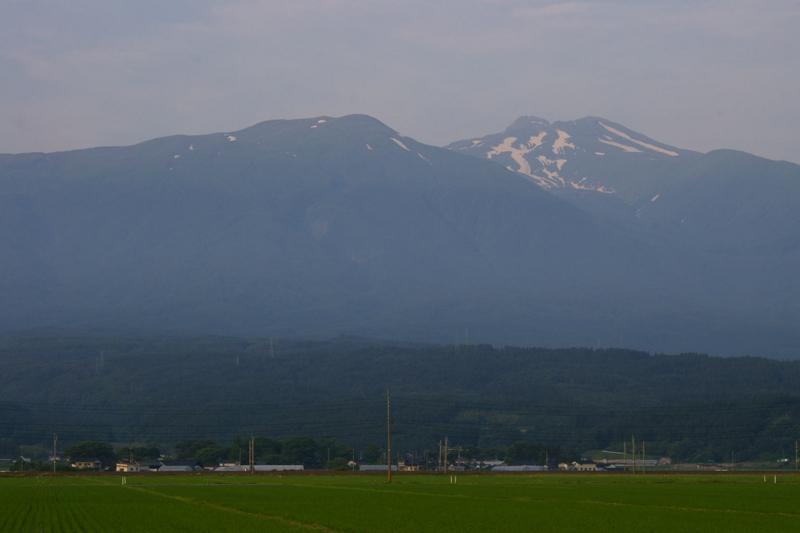 鳥海山 庄内地方からの眺め