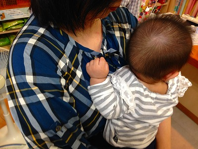赤ちゃんの写真