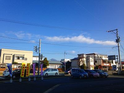 先週の土曜日の土屋薬局の駐車場から眺めた雲